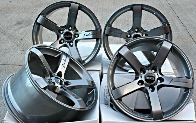 Alloy Wheels 18 Cruize Blade Gm Fit For Vauxhall Adam Astra Mk5 & Vxr