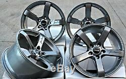 Alloy Wheels 18 Cruize Blade Gm Gunmetal Concave 5 Spoke 5x110 18 Inch Alloys