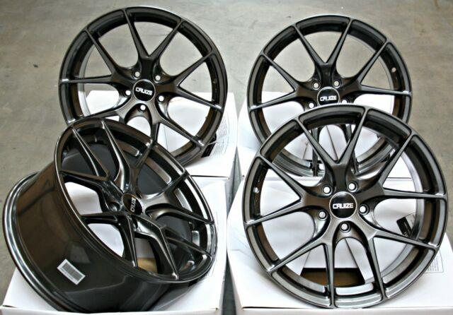 Alloy Wheels 18 Cruize Gto Gm Fit For Vauxhall Adam Astra Mk5 & Vxr