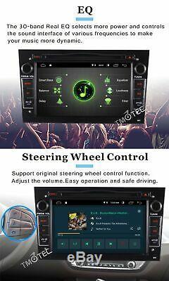 Android10 Car Stereo Radio DAB Opel Astra H 2004 Corsa Zafira SatNav BT DVD WiFi