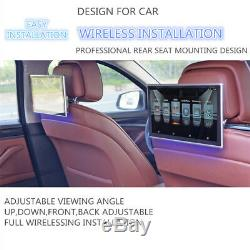 Android 6.0 11.6''Touch Headrest Rear Seat Monitors WIFI 3G/4G HDMI Mirror Link