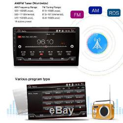 Android 7.1 2Din HD Touch Quad-Core Car Stereo Radio GPS Wifi 3G/4G Mirror Link