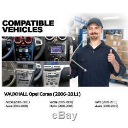 Android 7.1 DVD Player GPS Sat Nat Vauxhall Opel Corsa D Astra Zafira B 4G Black