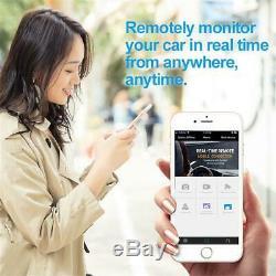 Android 8.1 11.66'' HD Car Dash Cam Recorder Rearview Mirror Camera DVR GPS ADAS