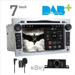 Android DAB+ Car Stereo DVD GPS SatNav For Vauxhall Opel Corsa Meriva Zafira B
