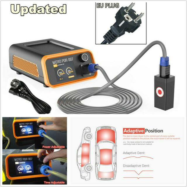 Autos Upgrade Universal Body Repair Paint Dent Tool Lcd Induction Heater Eu Plug