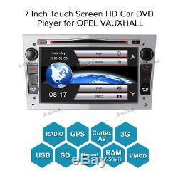 BT DAB+ silver 7 DVD Radio GPS SAT NAV For opel VAUXHALL/ASTRA/CORSA/Zafira BT