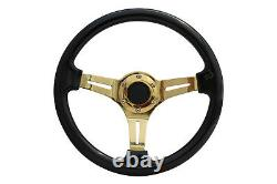 Black Gold TS Steering Wheel + Quick Release boss