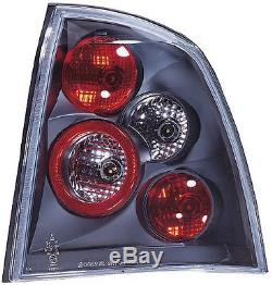 Black Rear Back Tail Lexus Lamp Lights for Vauxhall Astra G Convertible 98-04