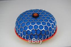 Blue HKS mushroom intake power filter 84mm fitting