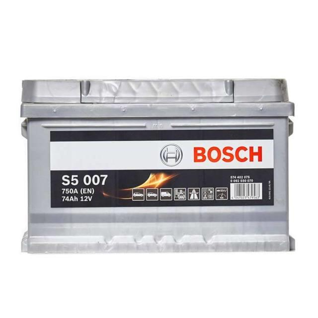Bosch S5 Car Battery 12v 74ah Type 100 750cca Sealed 5 Years Wty Oem Replacement