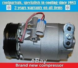 Brand New Air Con Compressor/pump To Fit Astra G/astra H/corsa C/meriva A/zafira