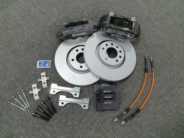 Brembo 4 Pot 321mm Big Brake Kit For Vauxhall Astra Mk4 & Mk5 Vxr