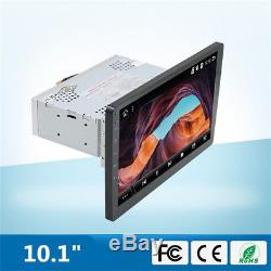 Car GPS 10.1 Single Din Quad-Core Stereo Radio Player WIFI GPS OBD Mirror Link