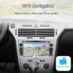 Car Stereo DVD For Opel Astra 2004 Corsa Vectra Player GPS Sat Nav Radio Silver