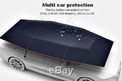 Car Vehicle Tent Sunshade Roof Cover Umbrella Anti-UV Semiautomatic Foldable