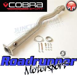 Cobra Sport Astra GSI MK4 2nd De Cat Pipe Exhaust Stainless Removes 2nd Cat