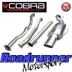 Cobra Sport Astra GSi MK4 3 Exhaust System Non Res & De Cat Downpipe VZ03d