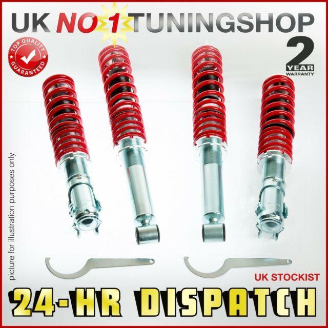 Coilover Vauxhall Astra G Mk4 Adjustable Suspension + Top Mounts + Drop Links