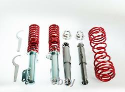 Coilover Vauxhall / Opel Astra G Mk4 Adjustable Suspension + Top Rubber Mounts