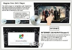 DAB Car Sat Nav Stereo GPS DVD RDS FOR OPEL CORSA VECTRA ZAFIR Vauxhall ASTRA
