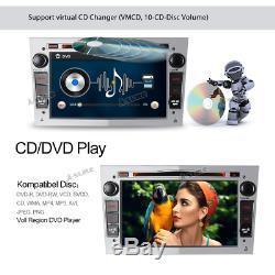 DAB+ DVD SatNav Radio GPS For Vauxhall Opel Corsa Antara Zafira Astra Meriva SWC