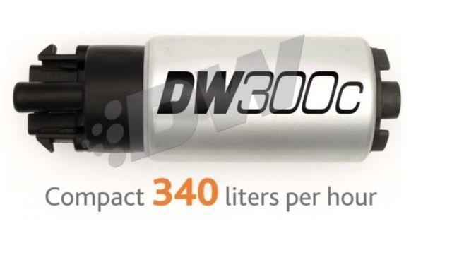 Deatschwerks Dw300c 340lph Compact In-tank Fuel Pump With Installation Kit