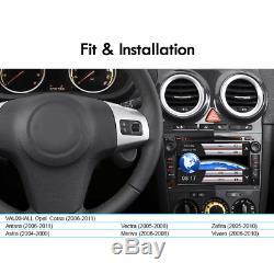 DVD GPSNAV radio for VAUXHALL Opel Corsa Antara Astra H Vectra Zafira DAB BT SWC