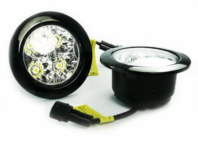 Drl Round High Quality Universal Extra Bright Autoswitch E4 Rl00 E