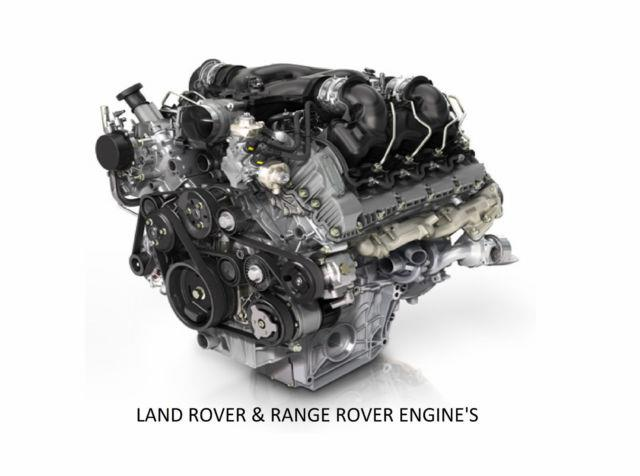 Ford Vauxhall Land Rover Saab Bmw Fully Reconditioned Engine 12 Month Warranty