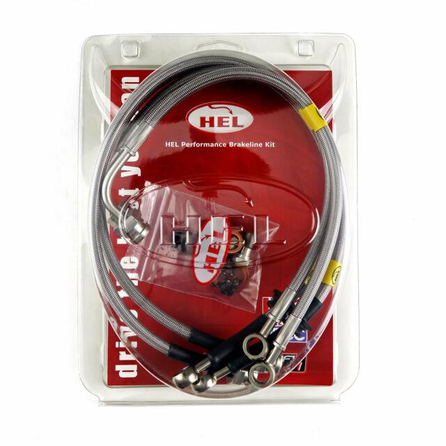 Full Kit Hel Brake Lines For Vauxhall Astra Mk4 Cab. 2.0 Turbo Discs 02-06