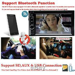For Nissan Juke (2010-On) Double 2 Din CD DVD Player Car Stereo Bluetooth&Camera