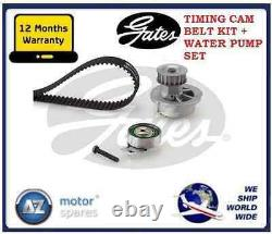 For Vauxhall Astra Mk4 1.6 1998-2005 Gates Timing Cam Belt Kit And Water Pump