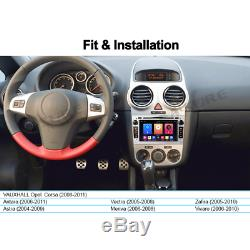 For Vauxhall Opel Corsa D Astra Zafira Antara 4G WIFI Android 9.0 DVD GPS SATNAV