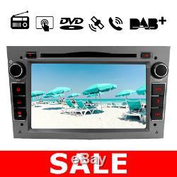For Vauxhall Opel Vivaro/Astra/Corsa C 2 Din Stereo DVD Player GPS Sat Nav DAB+
