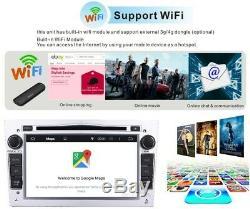 For Vauxhall Vivaro Astra Corsa Vectra Android Stereo DVD GPS Sat Nav Radio DAB+