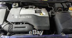 Genuine Vauxhall Astra G Mk4 2.2 16v Z22se Petrol Engine 127k Vectra/zafira