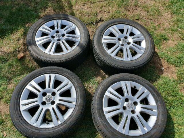 Genuine Vauxhall Corsa, Astra Meriva Mk4/mk5 4 Stud 16 Alloy Wheels Tyres