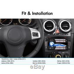 GPS NAV head unit for VAUXHALL Opel Corsa Antara Astra Vectra Zafira DAB BT SWC