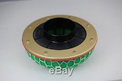 Green HKS mushroom intake power filter 84mm fitting