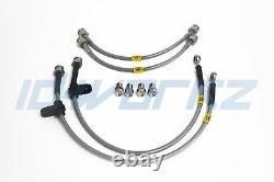 HEL Performance Braided Brake Lines for Vauxhall Astra G Mk4 inc Turbo, SRI, GSI