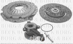 HKT1421 BORG & BECK CLUTCH 3in1 CSC KIT fits Vauxhall Astra MK4 MK5 1.7TD Diesel