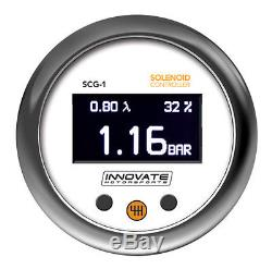 INNOVATE SCG-1 AFR Wideband Boost Solenoid Controller Gauge #3882