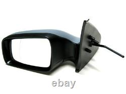 Mirror Wing Manual Left Gray For Painting For Vauxhall Astra G IV Mk4 98-06