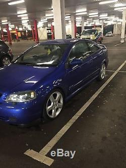 Mk4 vauxhall astra G coupe turbo bertone z20let 240bhp