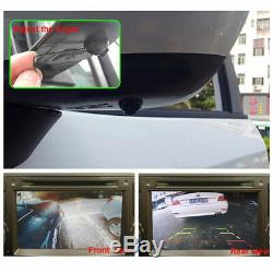 Monitor System 360 View Car Parking Assistance Panoramic Rearview Camera System