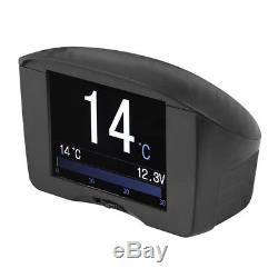 MultiFunction Voltage Tachometer Speed Display Car OBD Alarm Fault Code X50 PLUS
