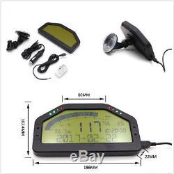 Multifunctional Dash Race Display OBD2 Bluetooth LCD Screen Digital Gauge Meter