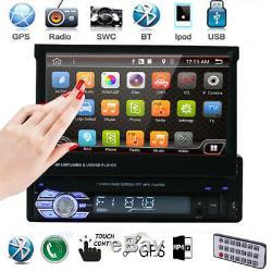 New 7 Touch Screen Singel Car MP5 Player Radio Stereo GPS Sat Nav 8G Map Card