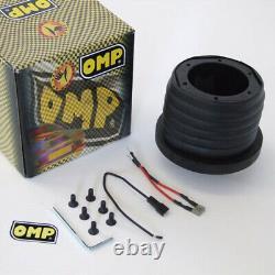 OMP TRECENTO UNO 300mm STEERING WHEEL & BOSS VAUXHALL ASTRA G MK4 ALL 25mm 98-04